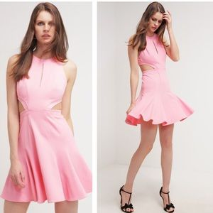 ZAC POSEN - Megan Mini Cutout Flare Dress